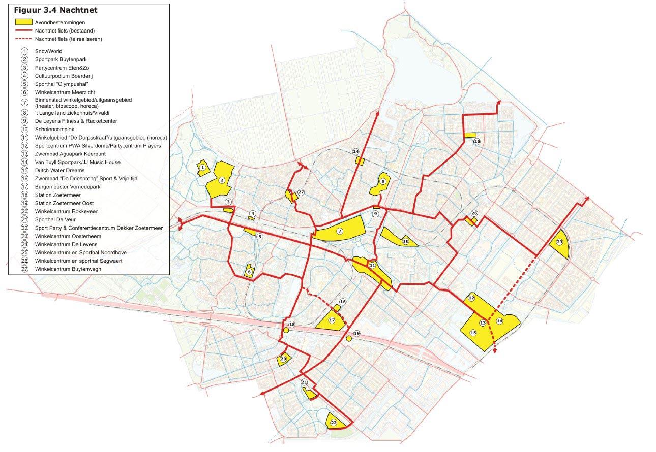 Meer fietsen in Zoetermeer: Actieplan