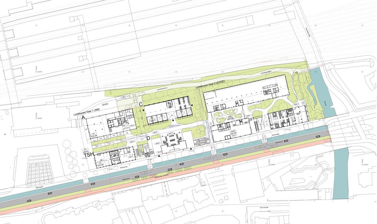 Ingrijpende verandering Stationsgebied Eindhoven: Lichthoven
